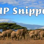 PHP Snippets