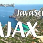 Calanque de Sormiou près de Marseille avec les titres XMLHttpRequest Javascript AJAX illustrant l'article de Murviel Info Béziers